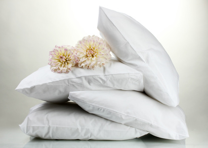 Kissen und Bettdecken