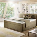 Polsterbett Sansibar mit Matratze und Lattenrost