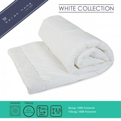 Bettdecke White Collection Vierjahreszeiten